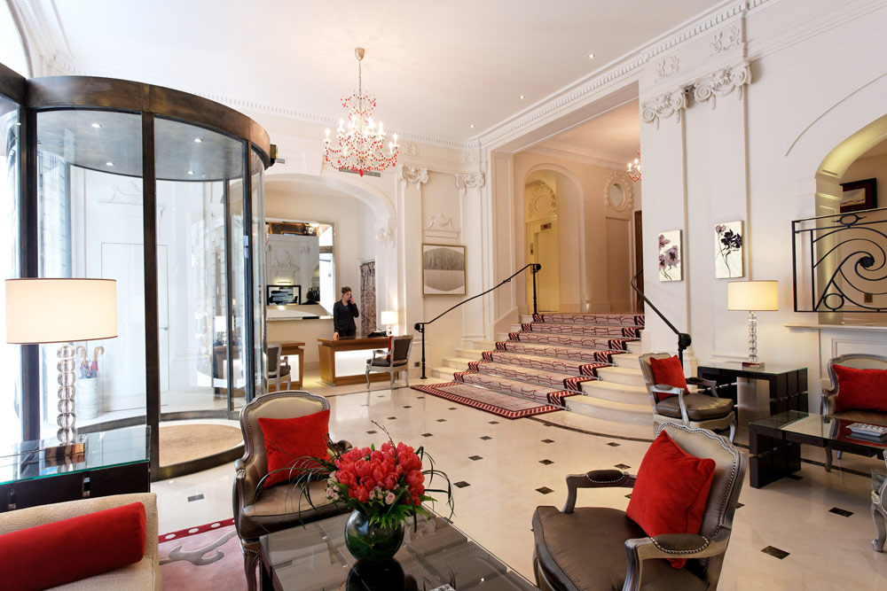 Lobby at Villa and Hotel Majestic | Paris, France