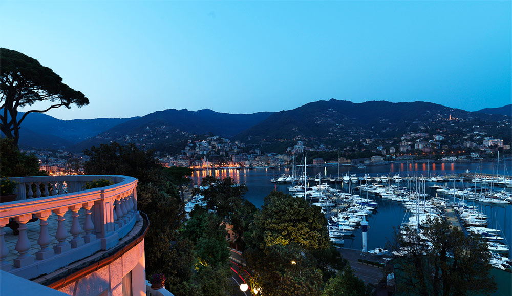 Harbour View at Excelsior Palace Hotel Rapallo, Italy