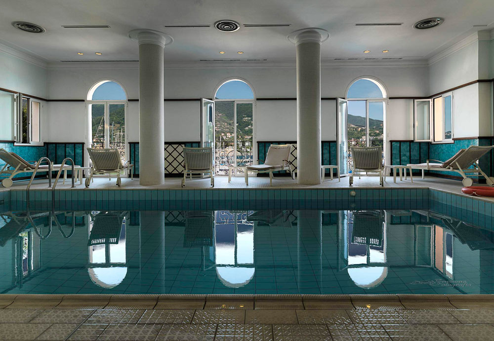 Indoor Pool at The Excelsior Palace Hotel