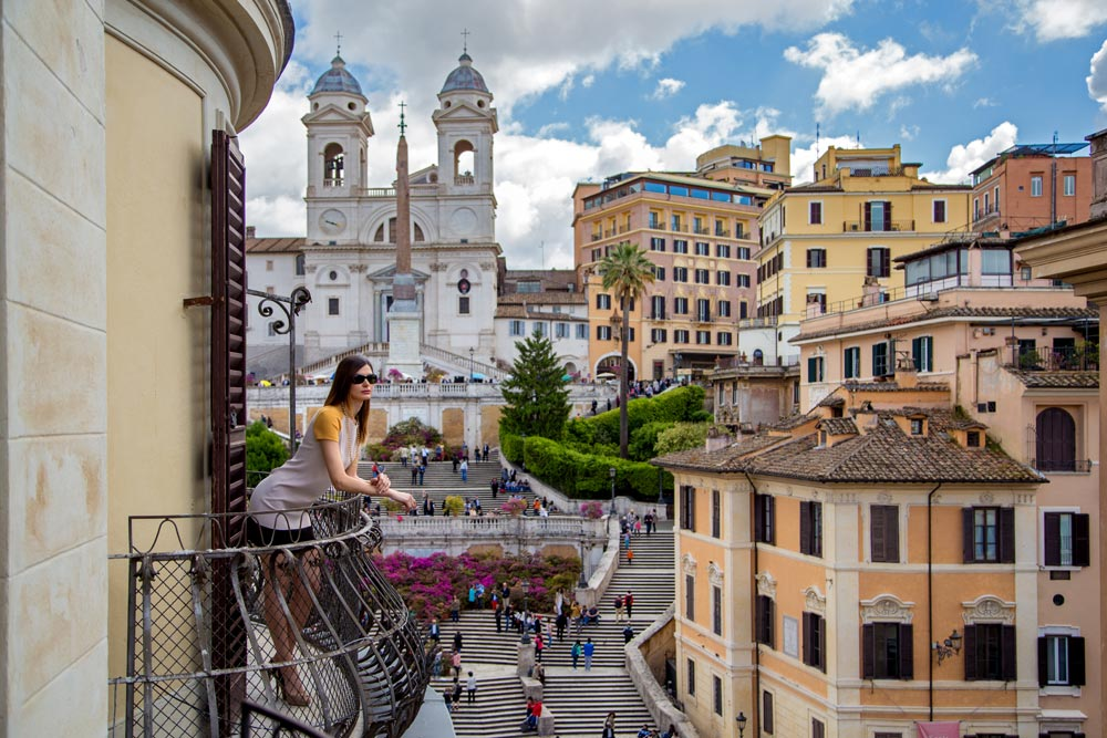 The Inn at the Spanish Steps, Italy