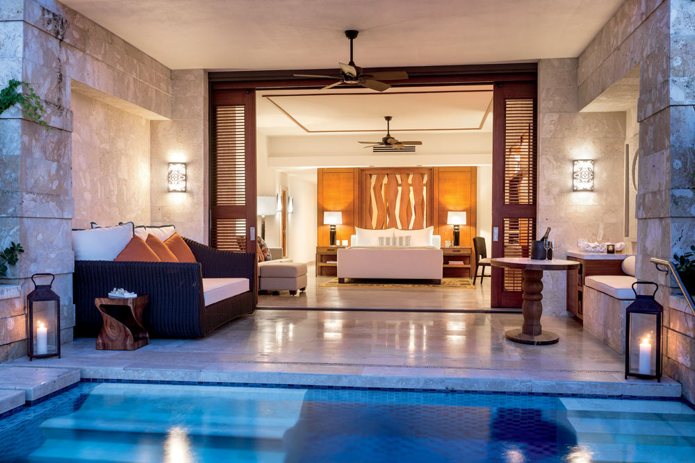 West Beach Accommodations With Private Plunge Pool At Dorado Beach, Puerto Rico