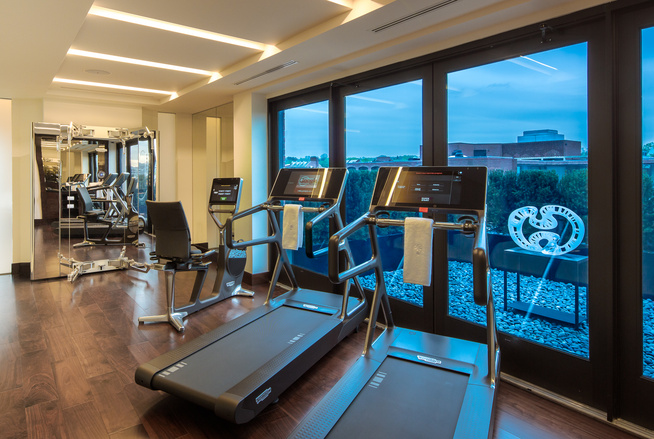 Capella Georgetown Workout Room