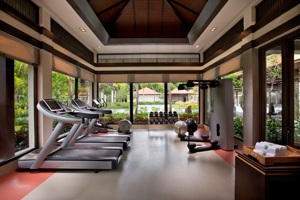 Gym at Banyan Tree Lang Co, Vietnam