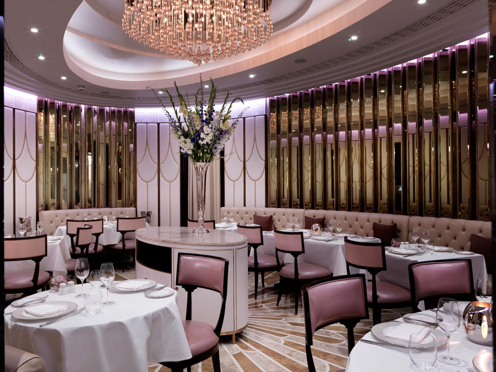 Oval Restaurant at Wellesley Hotel United Kingdom