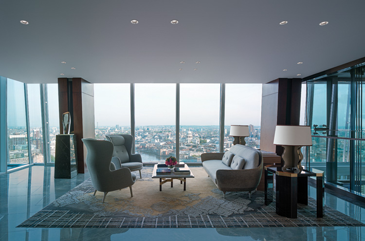 Shangri-la Hotel at the Shard