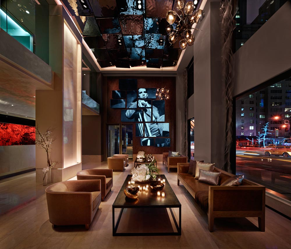 Lobby at The Quin Hotel