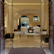 Front Desk at The First Luxury Art Hotel Roma