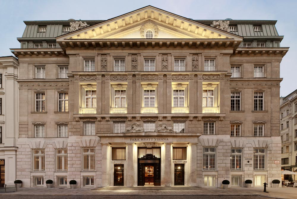Exterior of The Park Hyatt Vienna