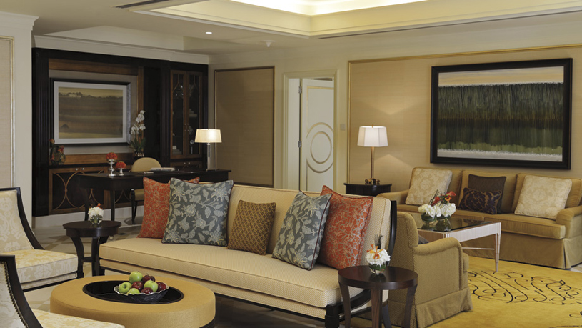 Ritz Carlton Dhabi showing a royal suite