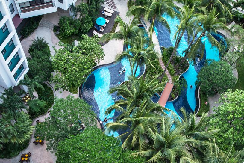 Chatrium Residence Bangkok Pool