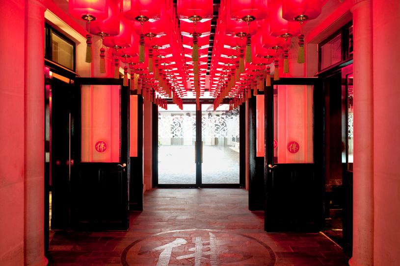 Buddha Bar Hotel Paris Entrance