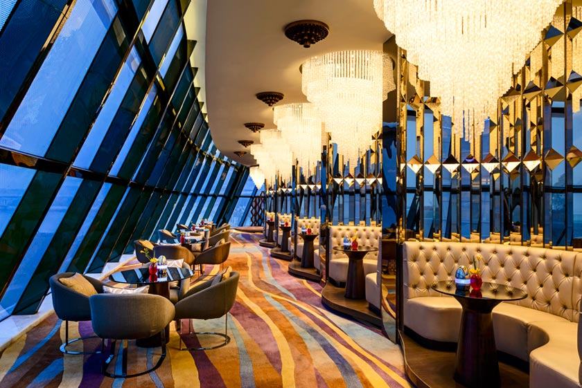 The Sheraton Huzhou Hot Spring Resort's Lobby Lounge