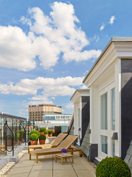 The London EDITION Penthouse Terrace