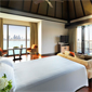 Over Water Villa Bedroom at Anatara Dubai The Palm