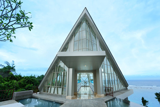 Samabe Resort and Villas Pearl Wedding Chapel