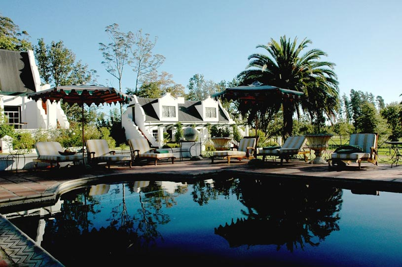 Kurland Hotel Pool Reflection