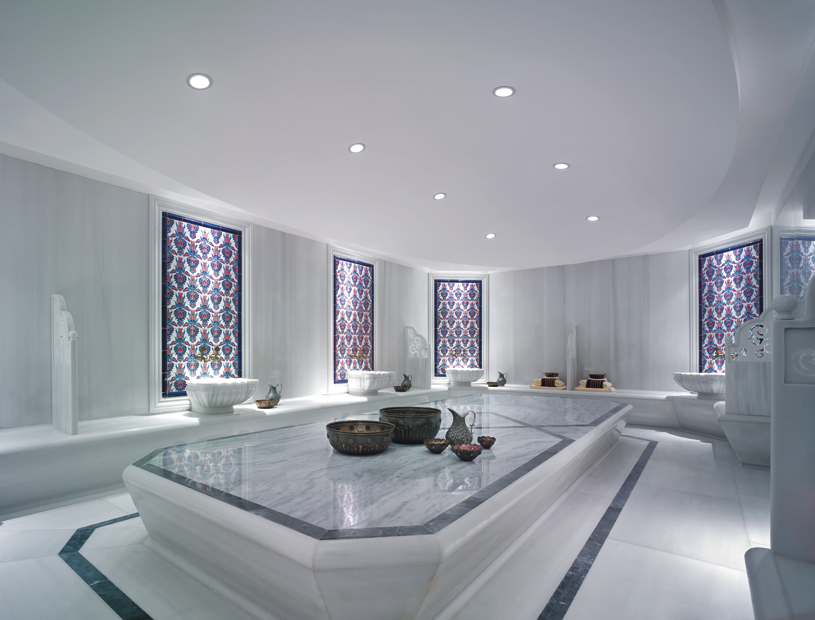 Turkish Bath at Shangri La Bosphorus