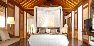 Guest Room at Pangulasian Island Resort