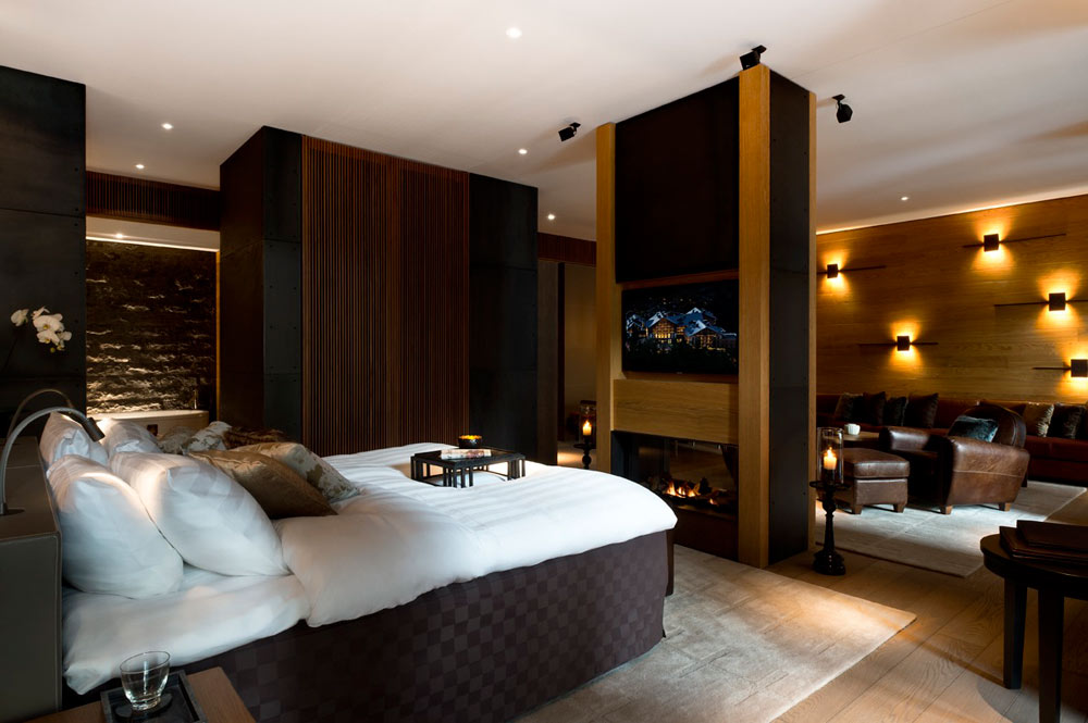 Deluxe Chedi Suite at Chedi Andermatt