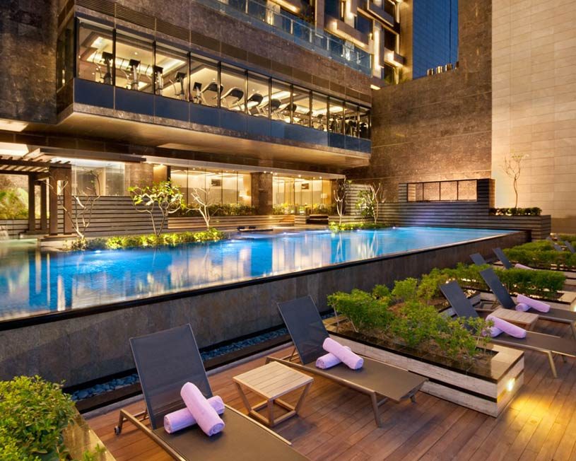 Pool at Kempinski New Delhi