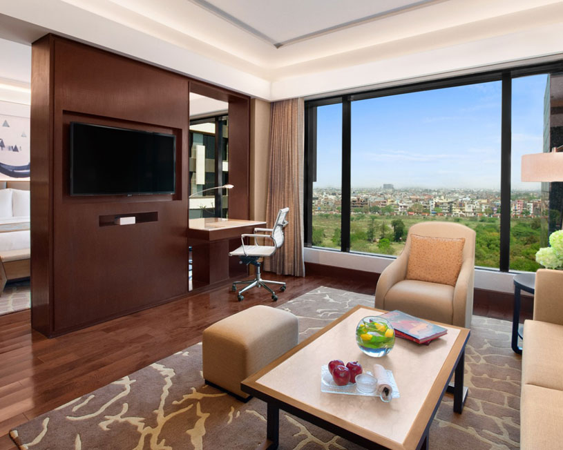 Deluxe Suite at Kempinski New Delhi