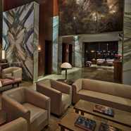Lobby Area at The Viceroy New York Hotel