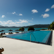Pebble Beach Pool at qualia