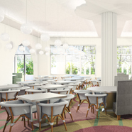 Dining Area at The Metropolitan Miami Beach Hotel