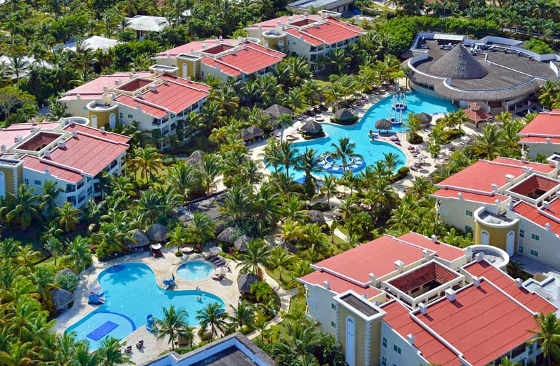 Aerial View of The Paradisus Punta Cana Reserve