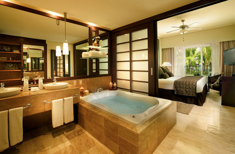 One Bedroom Master Suite With Whirpool at The Reserve at The Paradisus Punta Cana