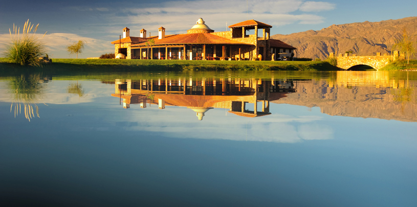 Golf Club House at The Grace Cafayate Hotel