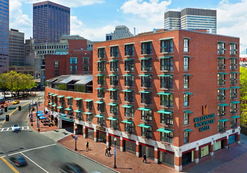 Exterior of The Millennium Bostonian Hotel