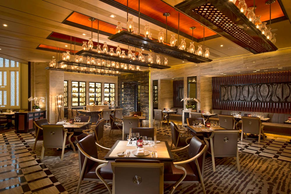 Grill Restaurant at Conrad Beijing, China