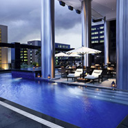 Pool at The Sofitel Mumbai Hotel