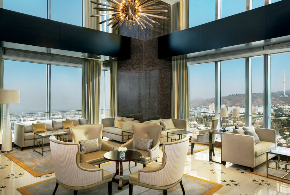 Sky Lounge at Ritz Carlton Almaty