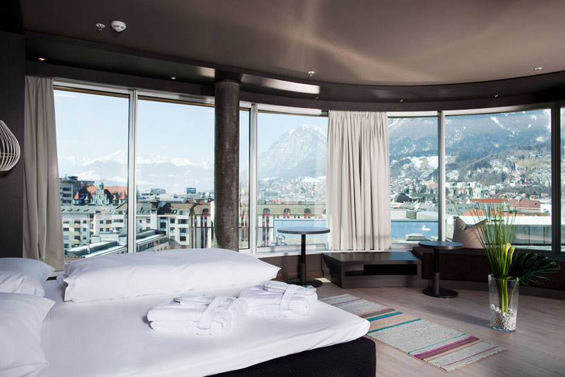 Panorama Suite at The Adlers Innsbruck Hotel