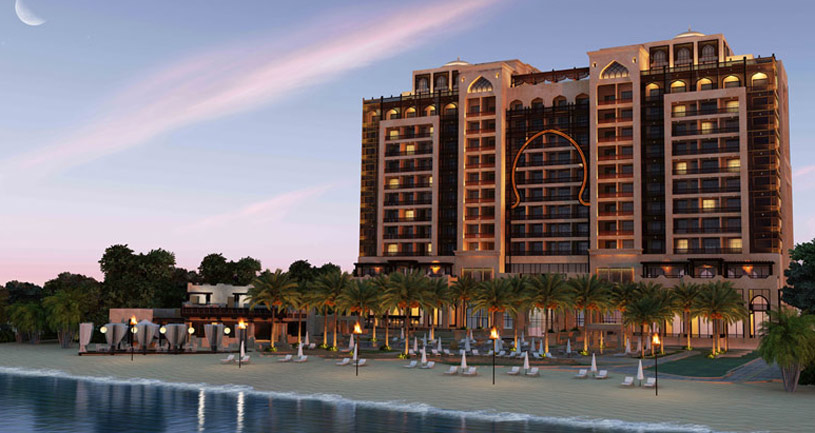 Exterior of The Ajman Saray Hotel