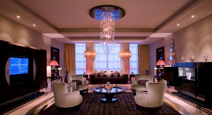Royal Suite Sitting Area at La Cigale Hotel