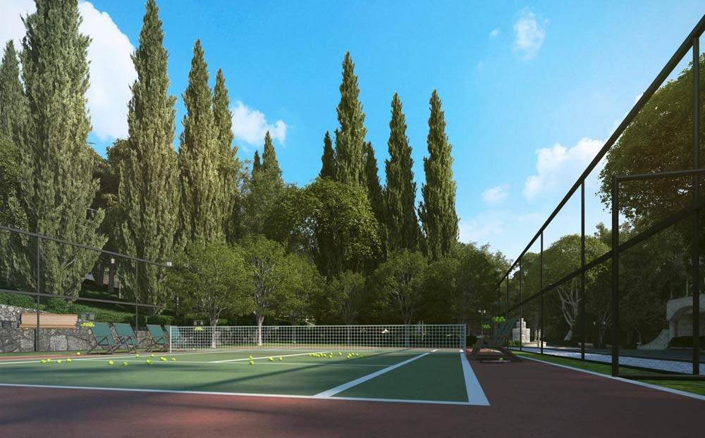 Tennis Court at Swissotel Sochi Kamelia