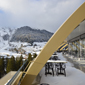 View From Studio Grigio at InterContinental Davos