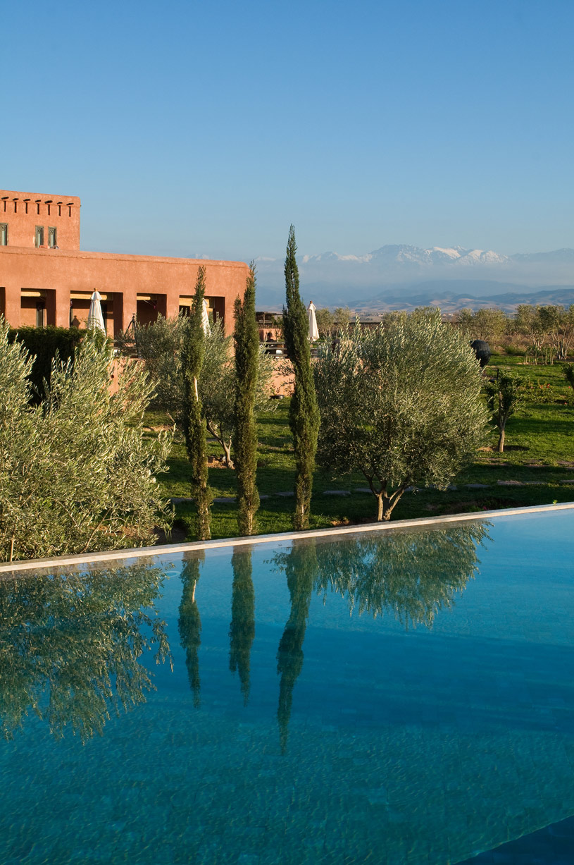 Pool and Landscape at Grace Marrakech