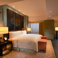 Bedroom of Premier Suite at Waldorf Astoria Beijing