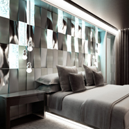Presidential Suite Bedroom at Melia Vienna