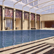 Indoor Pool at Four Seasons Hotel Moscow