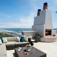 Rooftop Terrace at Bacara Resort and Spa, Santa Barbara