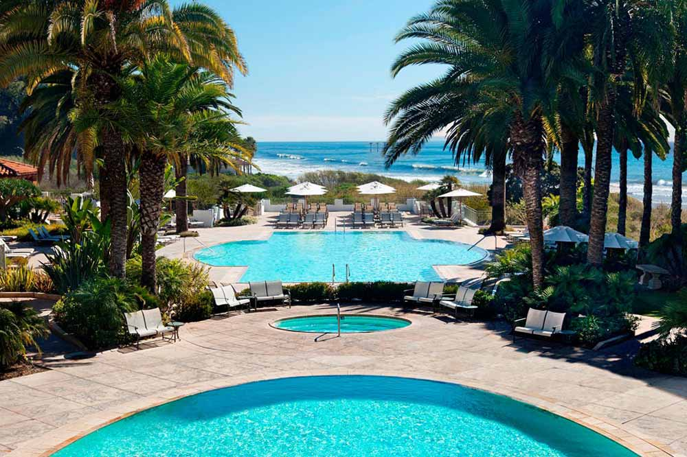 Outdoor Pool at Bacara Resort and Spa, Santa Barbara