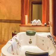 Bath in Royal Suite at The Privilege Floor Siem Reap, Cambodia