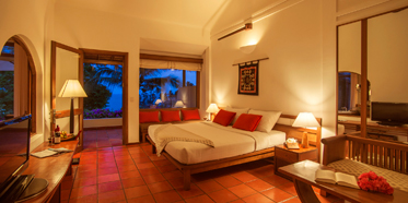 Deluxe Sea View Bungalow at The Victoria Phan Thiet Beach Resort and Spa.