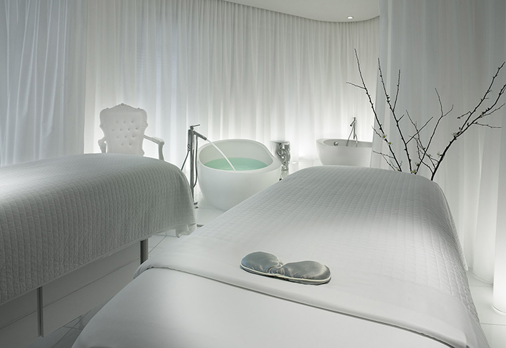 Couples Massage Therapy at SLS Las Vegas