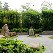 Zen Garden at Hyatt Regency Mexico City